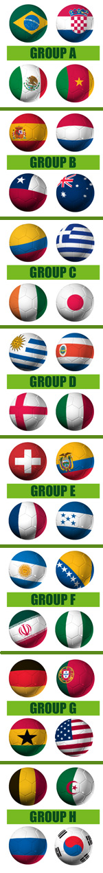 World Cup Flags from US FLag Shop