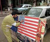 Making a flag in Lebanon