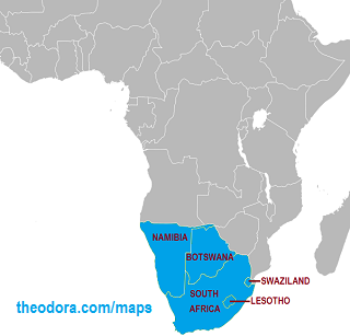 Map of G7 Member States