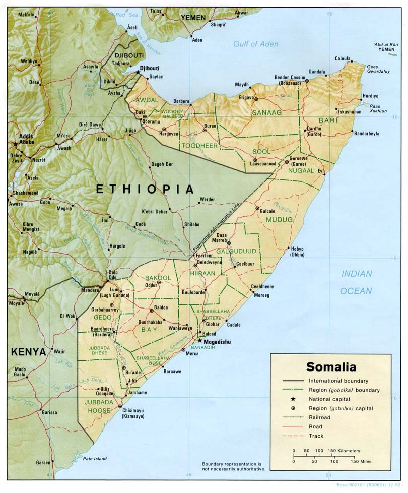 Maps of Somalia Somali Flags Maps Economy Geography Climate