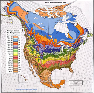North America Climate Map
