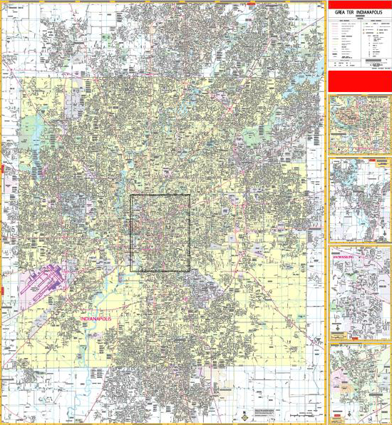 indianapolis zip code map pdf