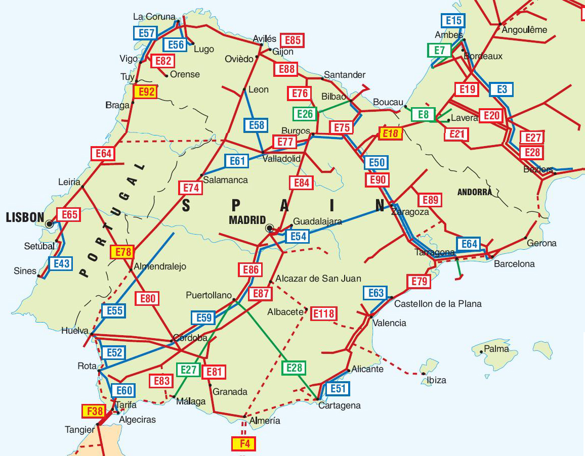 World Pipelines Maps ıtinerary Map -Day Administrative Of
