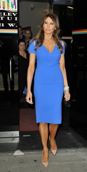 Melania Knauss Trump Fashion Style