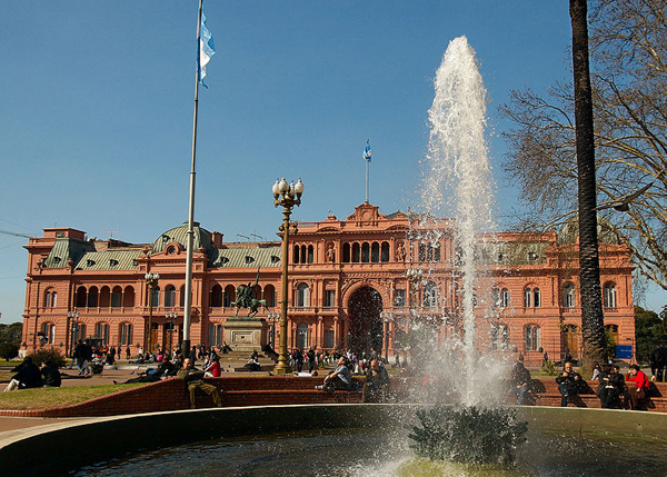 Casa rosada the seat of the executive branch of for Casa argentina