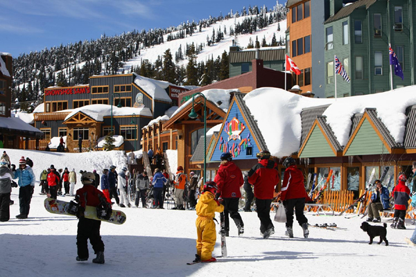 Big White Ski Resort Village Kelowna British Columbia
