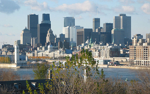 Montreal skyline, Quebec, Canada photo. Montreal skyline, Quebec