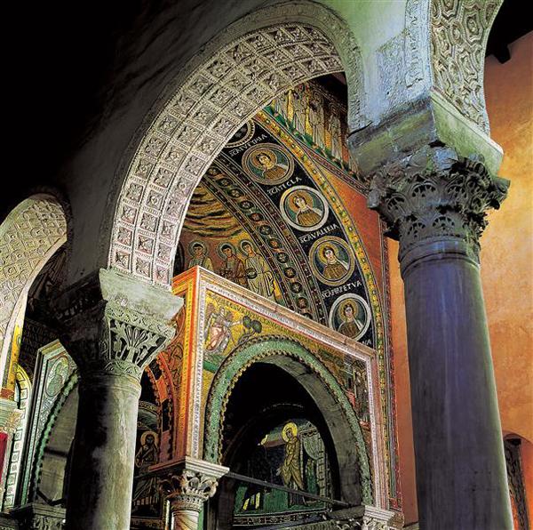 Euphrasian Basilica, Porec, Istria, Croatia photo