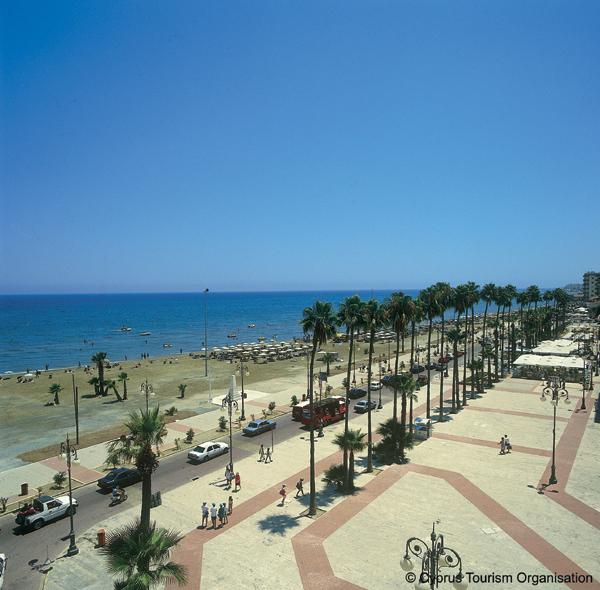Promenade Foinidoudes, Larnaka, Cyprus Photo