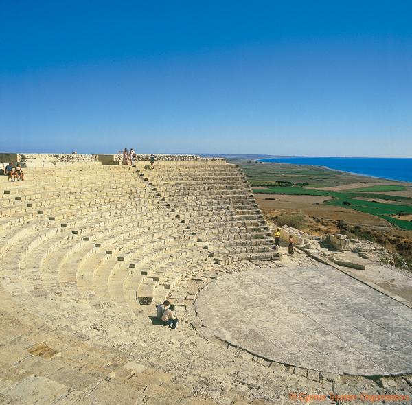 Kourion Theatre, Lemesos, Cyprus Photo