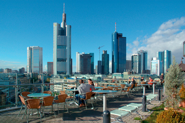 View Of The Skyline From Kaufhof Department Store From
