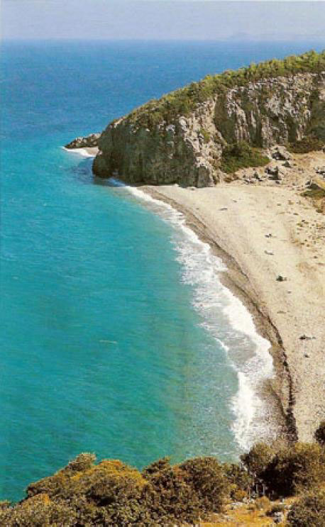 Samos Island Greece  city photos gallery : beach on Samos island, Greece Photo