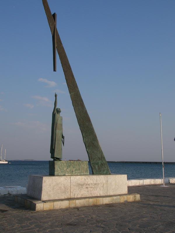 Statue of Pythagoras, Pythagorion, Samos
