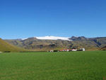 Eyjafjallajokull Glacier Volcano seen from Route 1, Iceland photo
