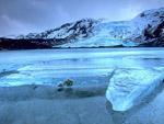 Eyjafjallajokull Glacier Volcano, Iceland photo