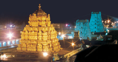 Bhubaneswar and Tirupati