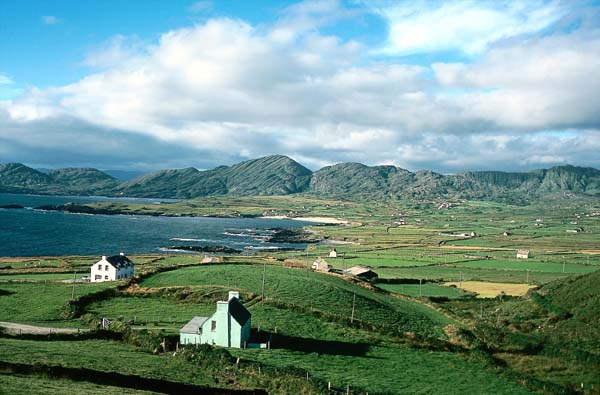 Allihies, Beara peninsula, County Cork, Munster, Ireland Photo