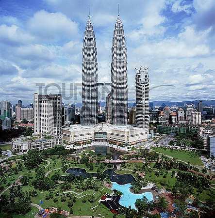 تصویری از KLCC مرکز شهر کوالالامپور