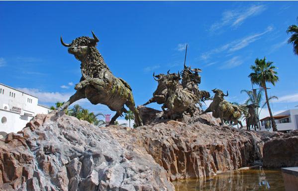 Aguascalientes Mexico  city pictures gallery : El Encierro sculpture, Aguascalientes, Mexico photo