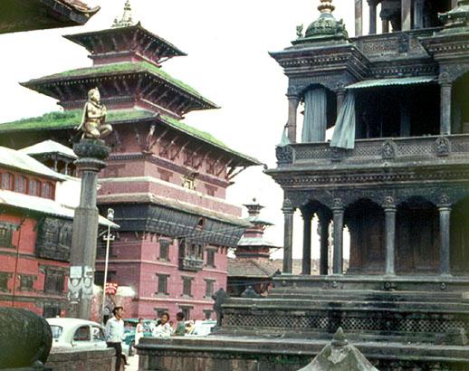 Hindu and Buddhist temples, Kathmandu