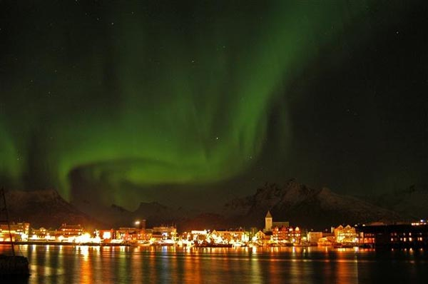 Svolvaer Norway  city photo : ... northern lights , Svolvaer, Lofoten Nordland, Northern Norway photo