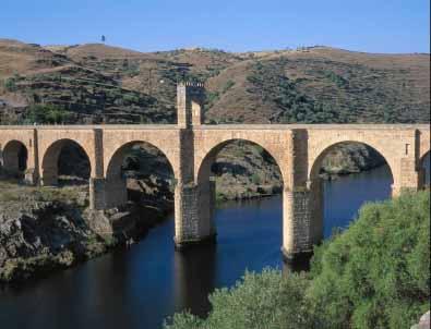 Roman bridge  Alcantara  Caceres  Spain PhotoRoman Bridges
